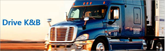 CDL-A Drivers: $1250 wk Guaranteed, with Excellent Home time and Sign on Bonus! - Knoxville, TN - K&B Transportation