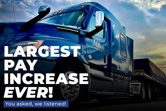 Class A CDL Flatbed Truck Driver Job in Warren, MI - Warren, MI - Melton Truck Lines